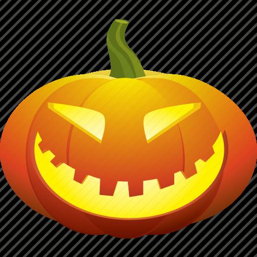 face, halloween, happy, pumpkin, smile, smiley icon