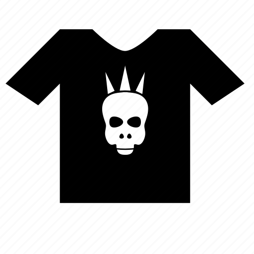 code, dress, music, punk, tshirt, wear icon
