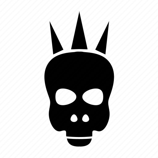 death, head, music, punk, skull icon