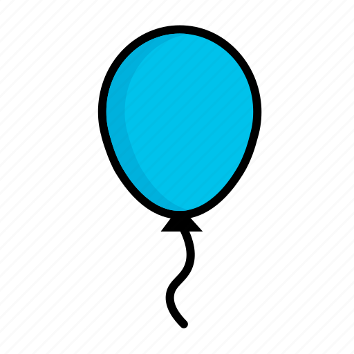 aerostat, air balloon, balloon, birthday, celebration, holiday, party icon