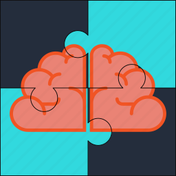 brain, mind, puzzle, solution, thoughts icon