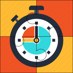 clock, deadline, puzzle, solution, time, watch icon