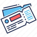 barcode, identification, scanning, tickets icon