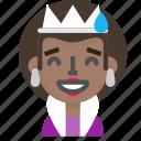 costume, emoji, female, halloween, queen, sorry icon