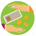 bank, cash, coin, finance, lend, money, notes