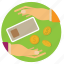 bank, cash, coin, finance, lend, money, notes icon