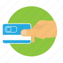 atm, bank, card, cash, credit, money, secure icon