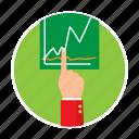 business, finances, hand, money, rates, reports, stocks