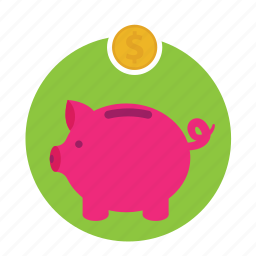 account, bank, home, money, save icon