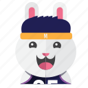 avatar, bunny, costume, cute, rabbit, smile icon