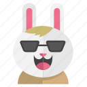 cute, avatar, rabbit, smile, bunny, costume