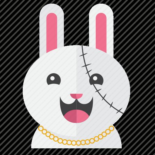 avatar, bunny, costume, cute, rabbit, smile icon