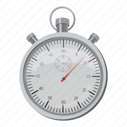 cartoon, side, speed, sport, stopwatch, time, view icon