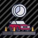 autocross, racing, sport icon