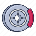 brake, disc, racing