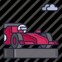 formula, racing, vehicle