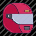 helmet, protection, racing