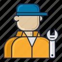 mechanic, racing, repair icon