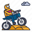 motocross, racing, sports
