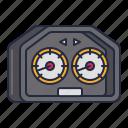 gauge, racing, speedometer