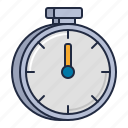 racing, stopwatch, timer icon