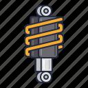 racing, suspension, vehicle