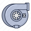 turbo, racing, booster icon