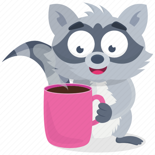 'Racoon' by Metropolicons com