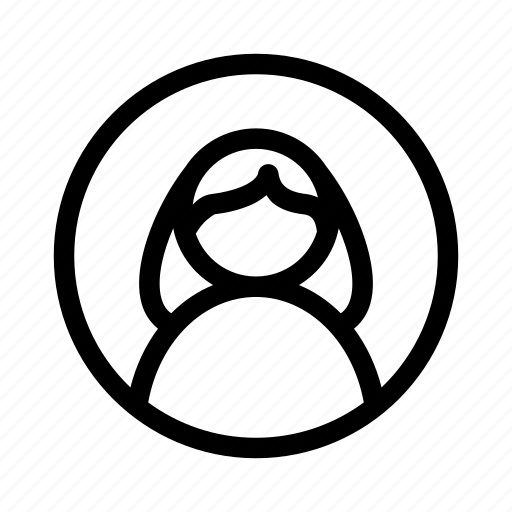 avatar, girl, social, user icon