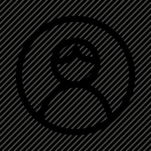 avatar, boy, social, user icon