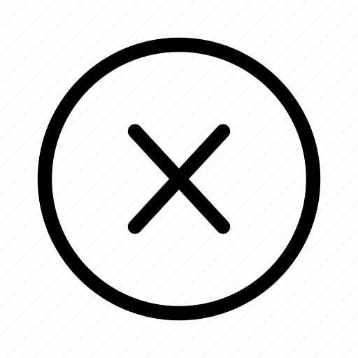 mark, social, x icon