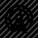 podcast, radio icon