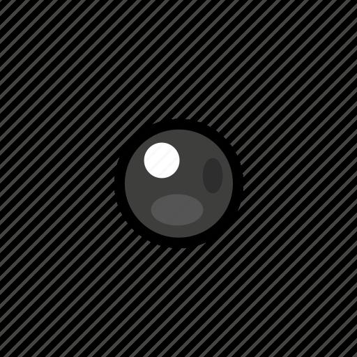 bullet, dark, point icon