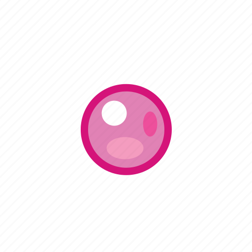 bullet, pink, point icon