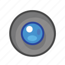 blue, radio, radio button icon