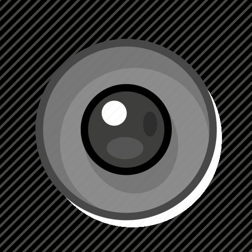 dark, radio, radio button icon