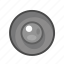 gray, radio, radiobutton icon
