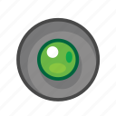 green, radio, radio button icon
