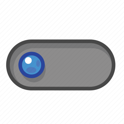 blue, left, switch icon