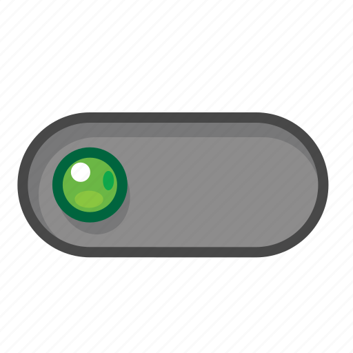 green, left, switch icon
