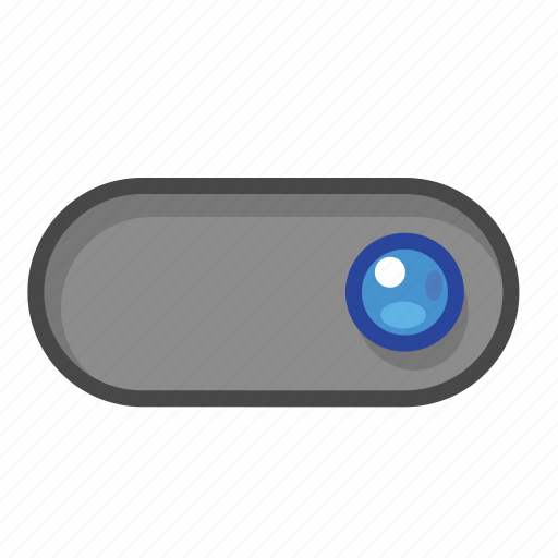 blue, right, switch icon