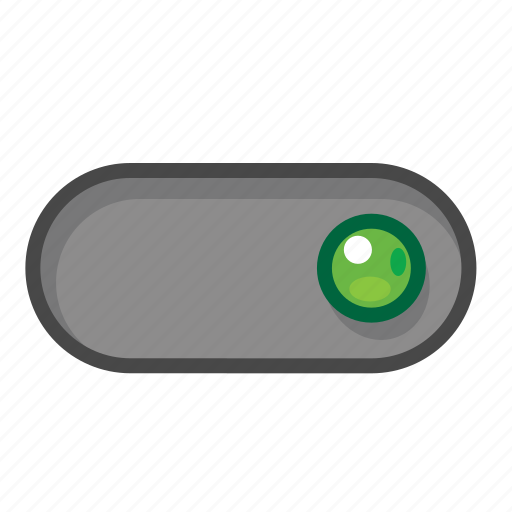 green, right, switch icon