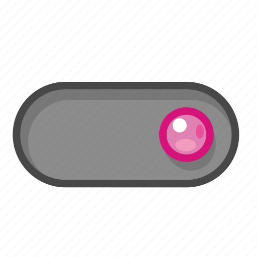 pink, right, switch icon