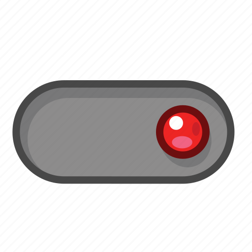 red, right, switch icon