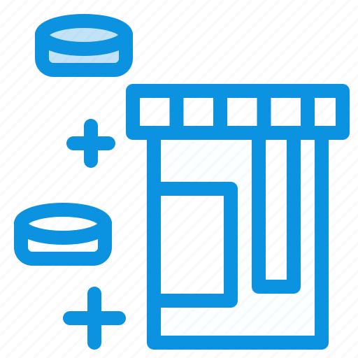 bottle, healthcare, tablet icon