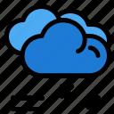 cloud, forecast, raining, rainy, weather icon