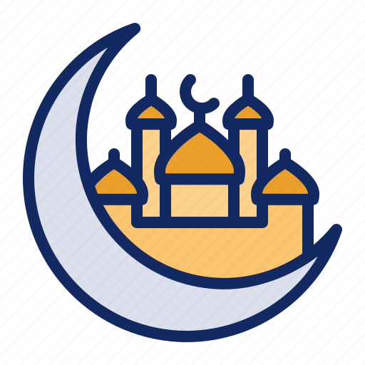 Crescent, moon, mosque, ramadan icon - Download on Iconfinder