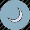 crescent, islam, moon, muslim, ramadan, religion, sky icon