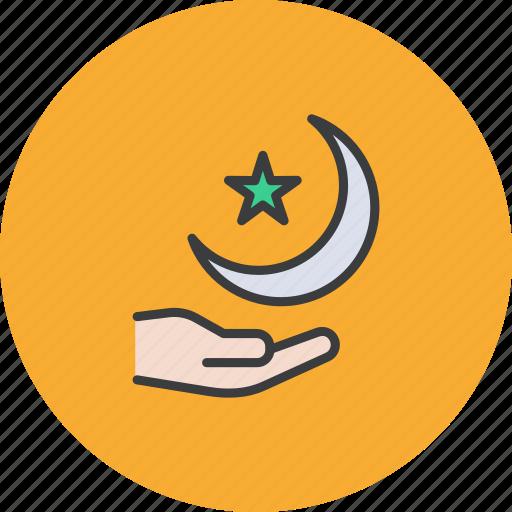 Crescent, moon, ramadan, star icon - Download on Iconfinder