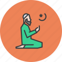 islam, man, muslim, pray, prayer, ramadan, salat icon